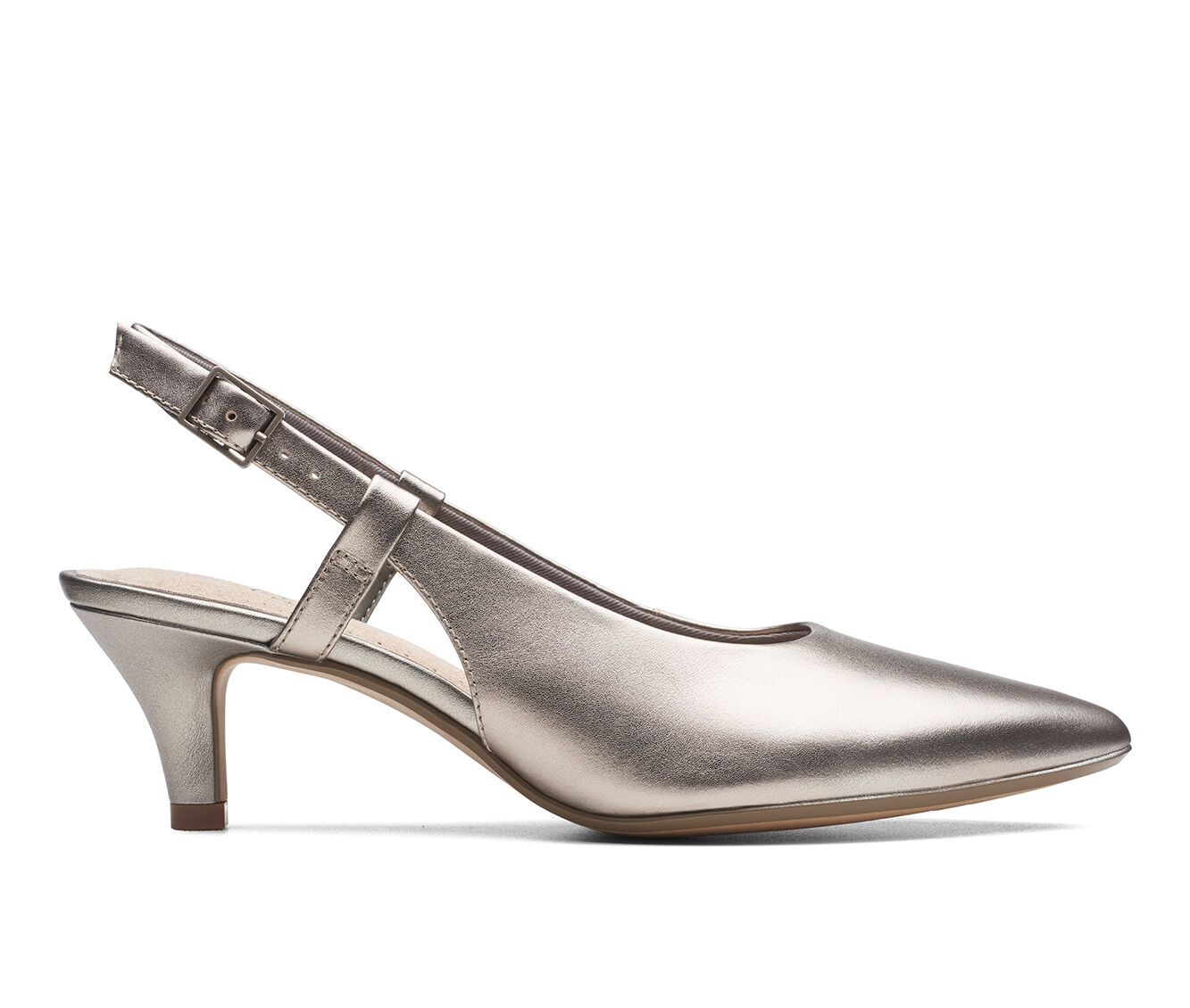 For Sale Women's Clarks Linvale Loop Pumps Pewter