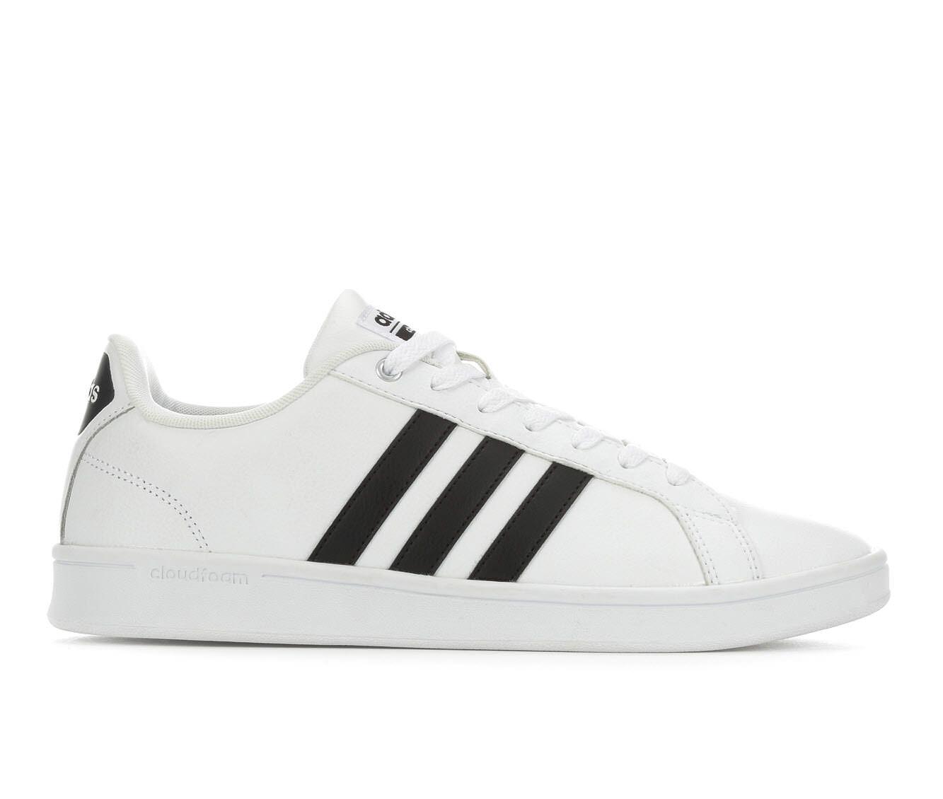 Men\u0026#39;s Adidas Cloudfoam Advantage Stripe Retro Sneakers
