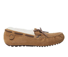 Fireside by Dearfoams Victoria Moccasin with Tie Slippers