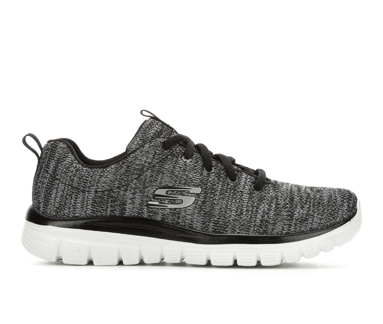 fast delivery avialable Women's Skechers Twisted Fortune 12614 Sneakers Black/White