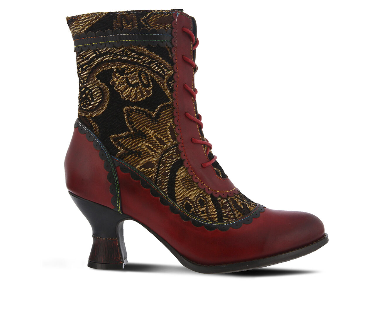 Women's L'ARTISTE Bewitch Booties Red Multi