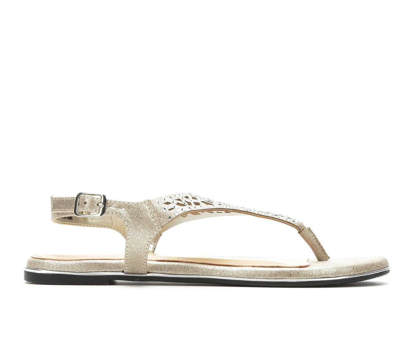Reliable Women's Solanz Dazzle Sandals Grey Silver
