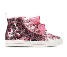 Girls' Nickelodeon Toddler & Little Kid & Big Kid JoJo Leopard High-Top Sneakers