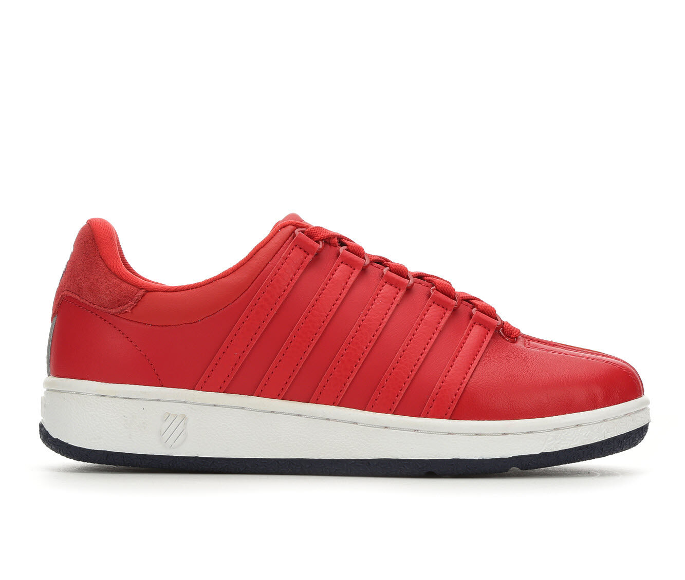 Wholesale Women's K-Swiss Classic VN Heritage Retro Sneakers Red/Navy