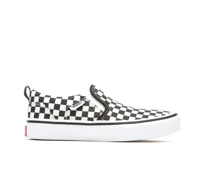 Boys' Vans Asher 10.5-7 Slip-On Skate Shoes