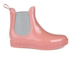 Women's Journee Collection Drip Chelsea Rain Boots