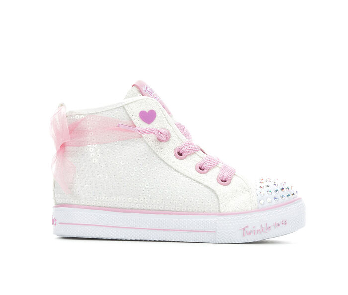Girls' Skechers Toddler & Little Kid Sequin Bow Sneakers