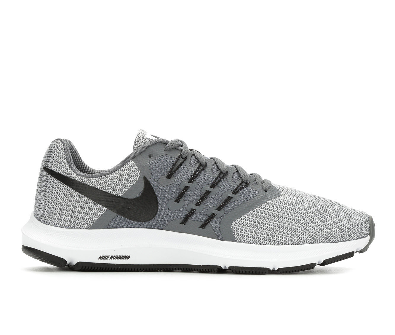 Men's Nike Run Swift Running Shoes Gry/Gry/Blk