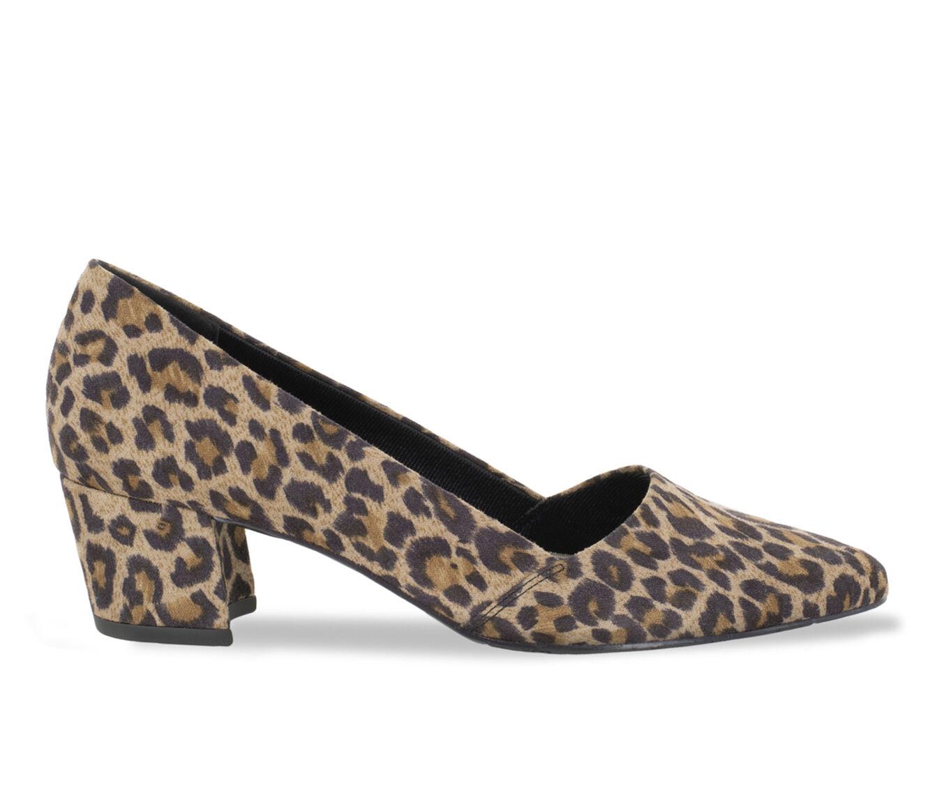 Women's Easy Street Temple Shoes Leopard