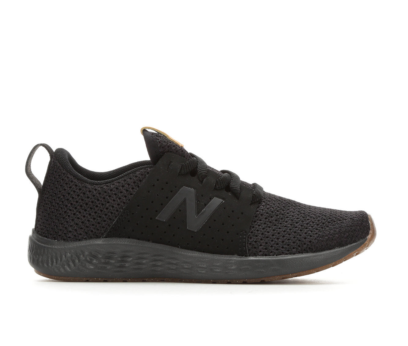 boys new balance black