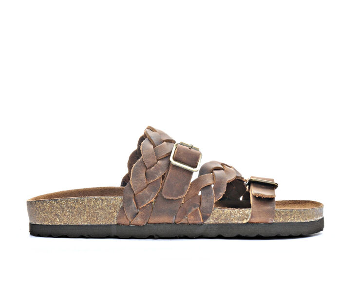Women's White Mountain Holland Strappy Footbed Sandals
