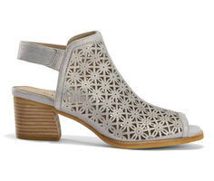 Women's Earth Murano Mist Peep Toe Booties