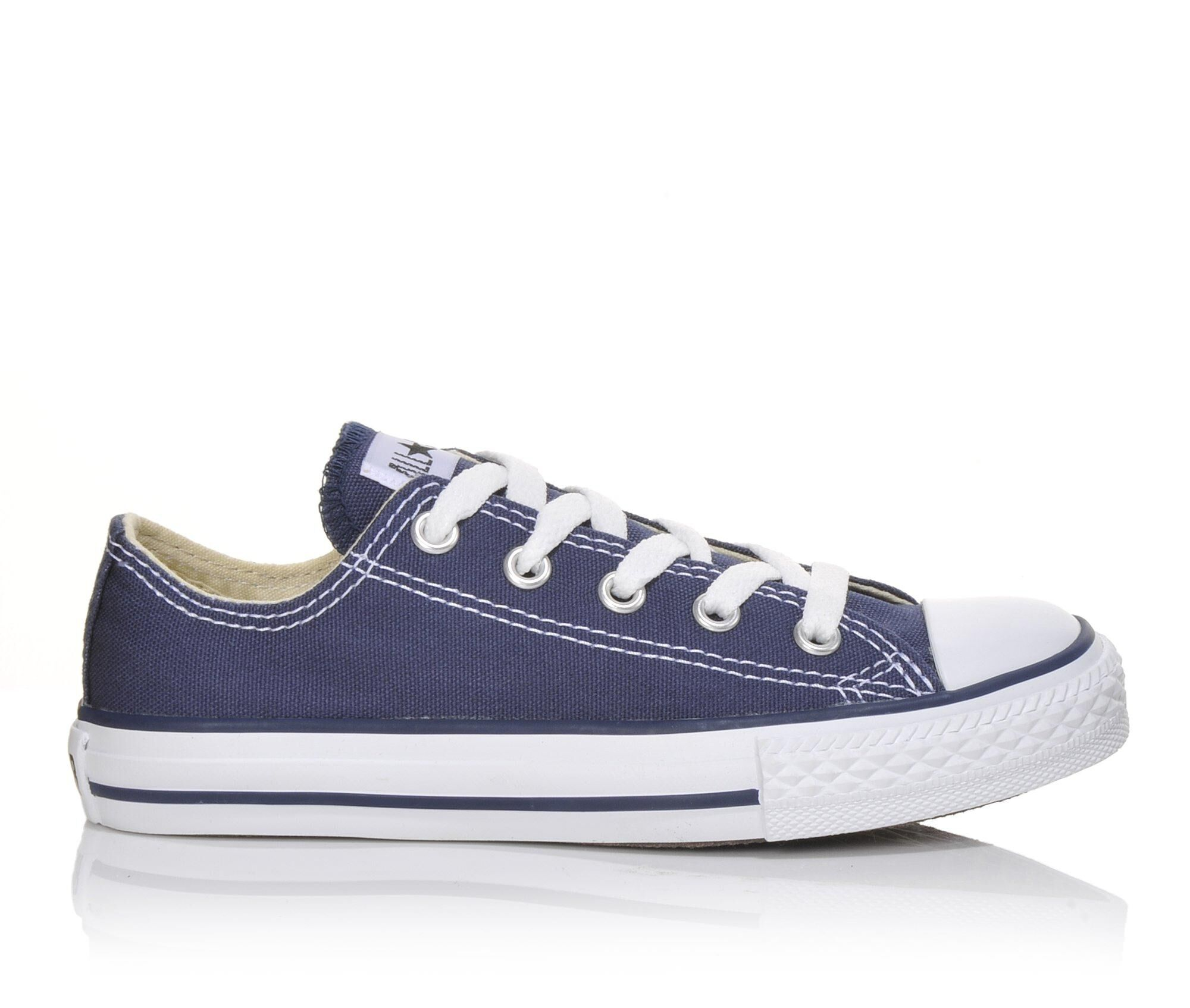CONVERSE unisex-child ALL STAR OX Blue / Dark Low top trainers