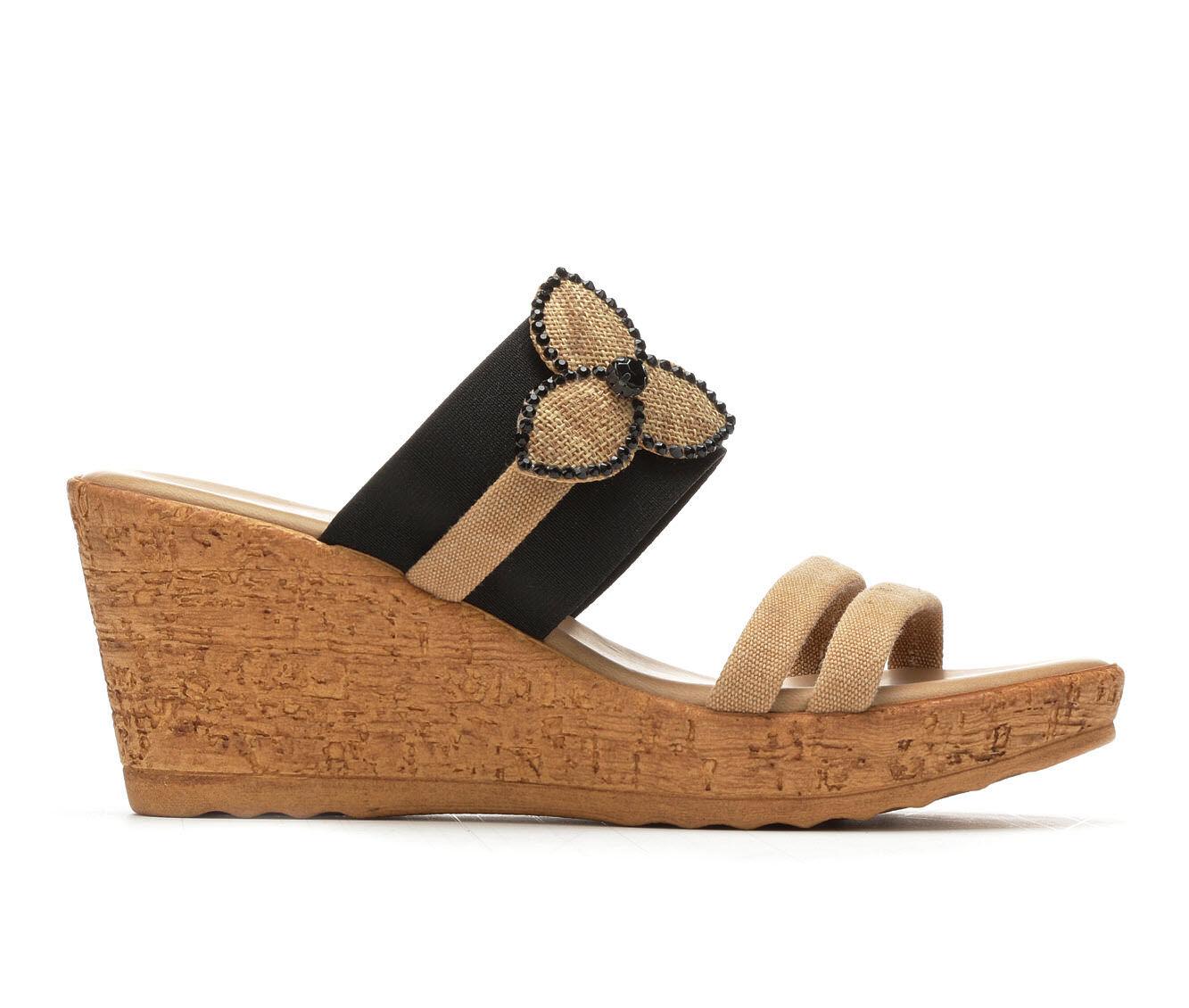 buy cheap best seller discount affordable Women's Italian Shoemakers Seek Wedge Sandals discount for sale e8E3kA