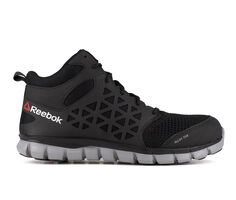 Men's REEBOK WORK Sublite Cushion Work Mid Mesh Work Boots