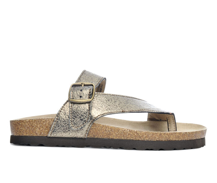 Women's White Mountain Carly Footbed Sandals