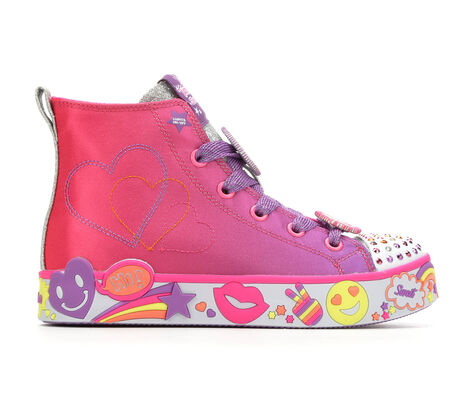 Girls' Skechers Positive Princess 10.5-4 Light-Up Sneakers