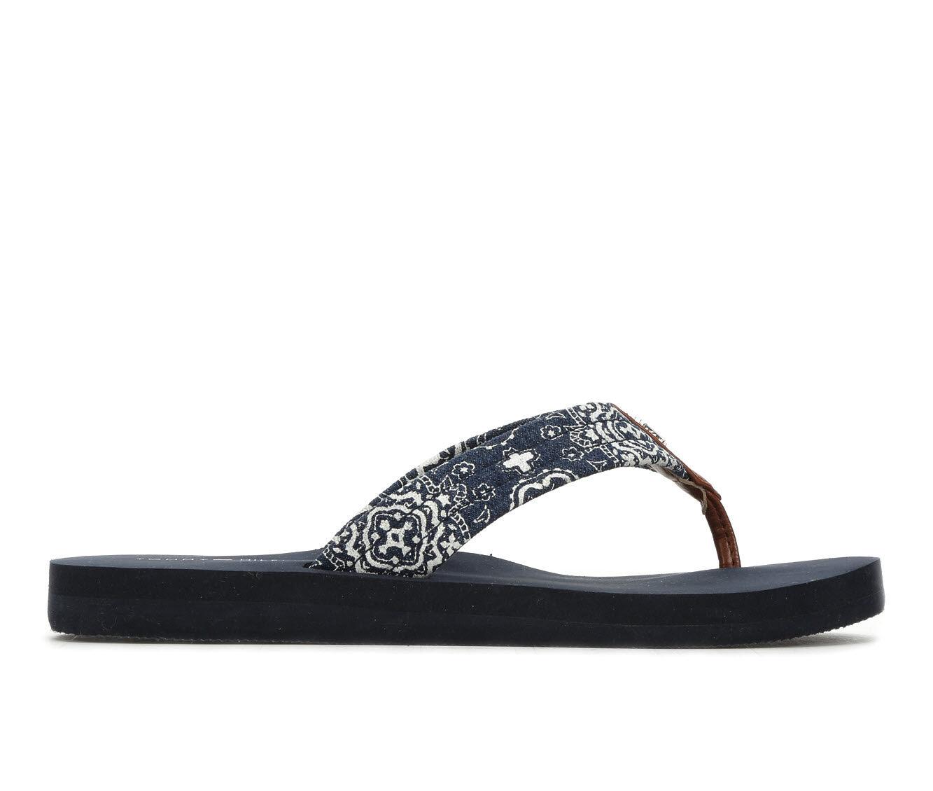 Women's Tommy Hilfiger Cart Sandals Blue/Silver