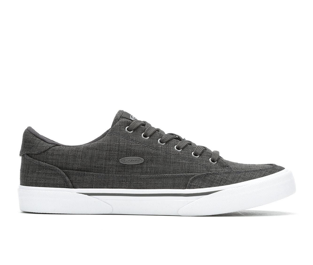 Men's Lugz Stockwell Casual Sneakers Dark Grey/White