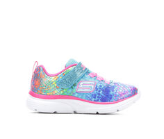 Girls' Skechers Toddler Wavy Lites Light-Up Sneakers