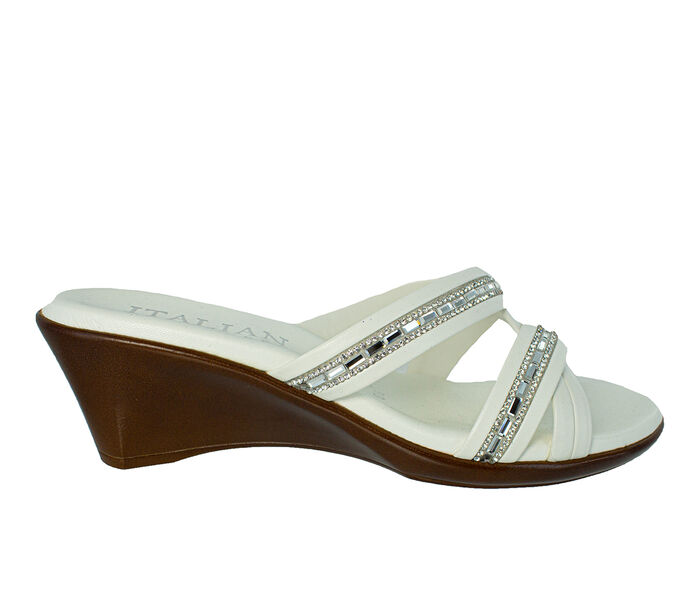 Women's Italian Shoemakers Passion Wedges