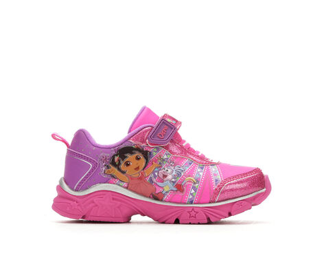 Girls' Nickelodeon Dora 6 Light-Up Sneakers