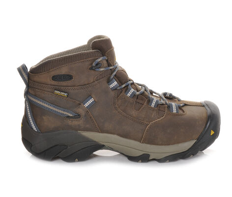 Men's Keen Utility Detroit Mid Steel Toe Work Boots