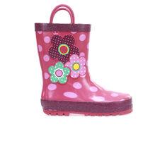 Girls' Western Chief Little Kid & Big Kid Flowe Cutie Rain Boots