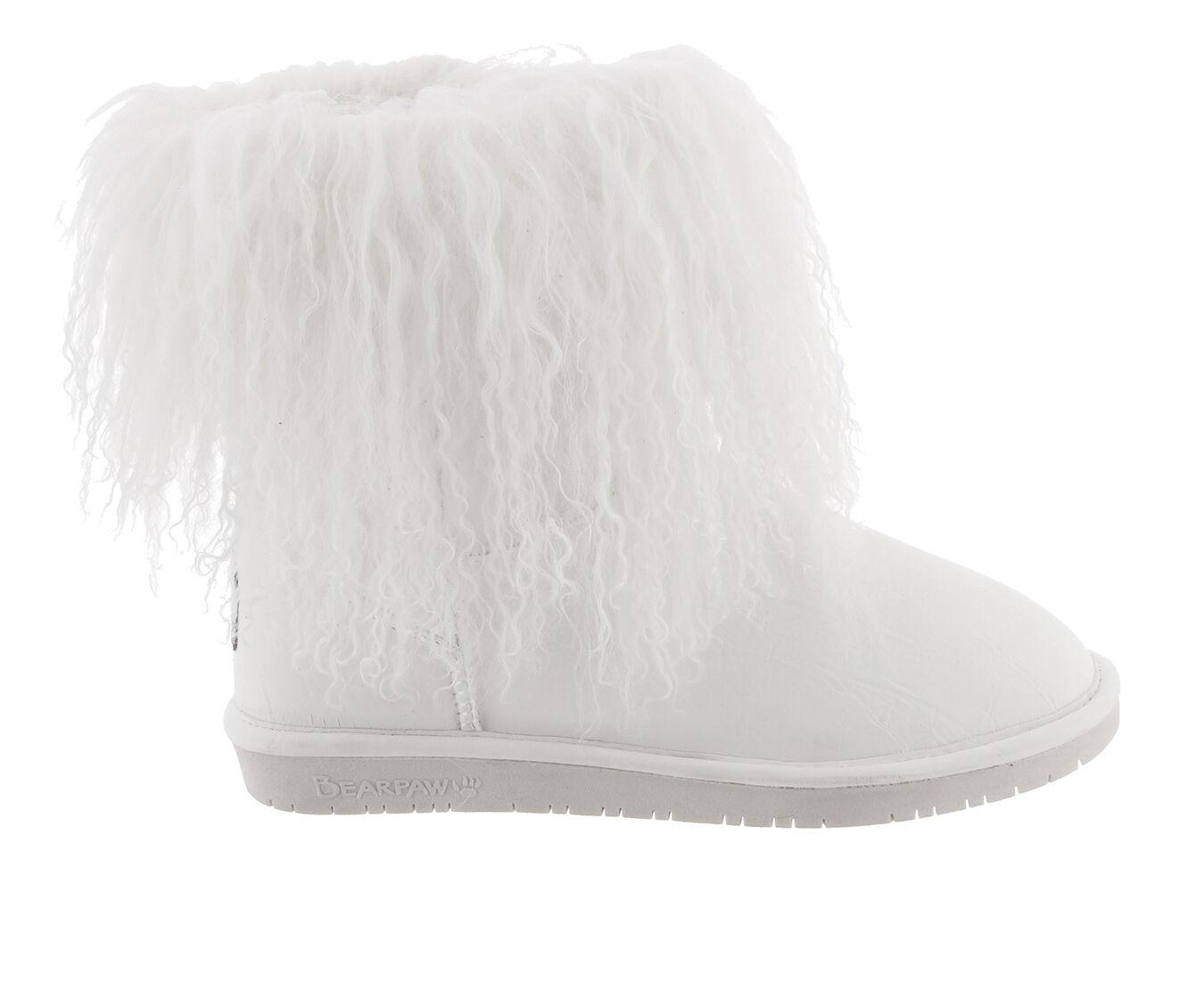 Women's Bearpaw Boo Boots White