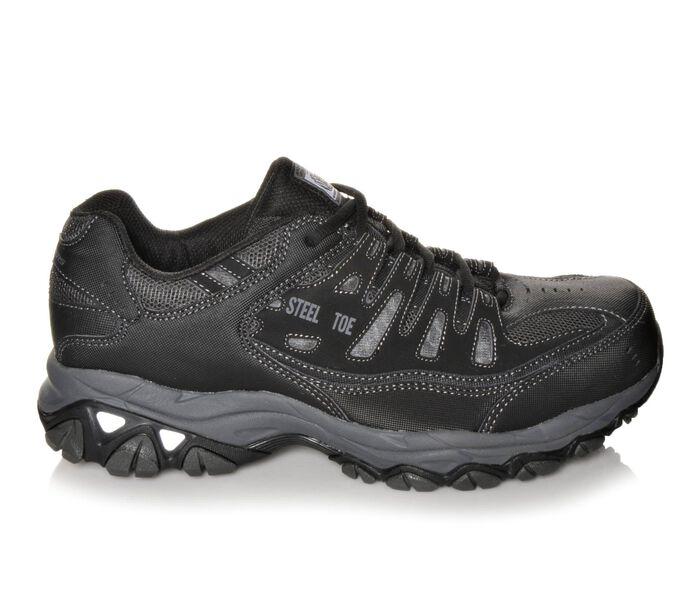Men's Skechers Work 77055 Cankton Steel Toe Work Shoes