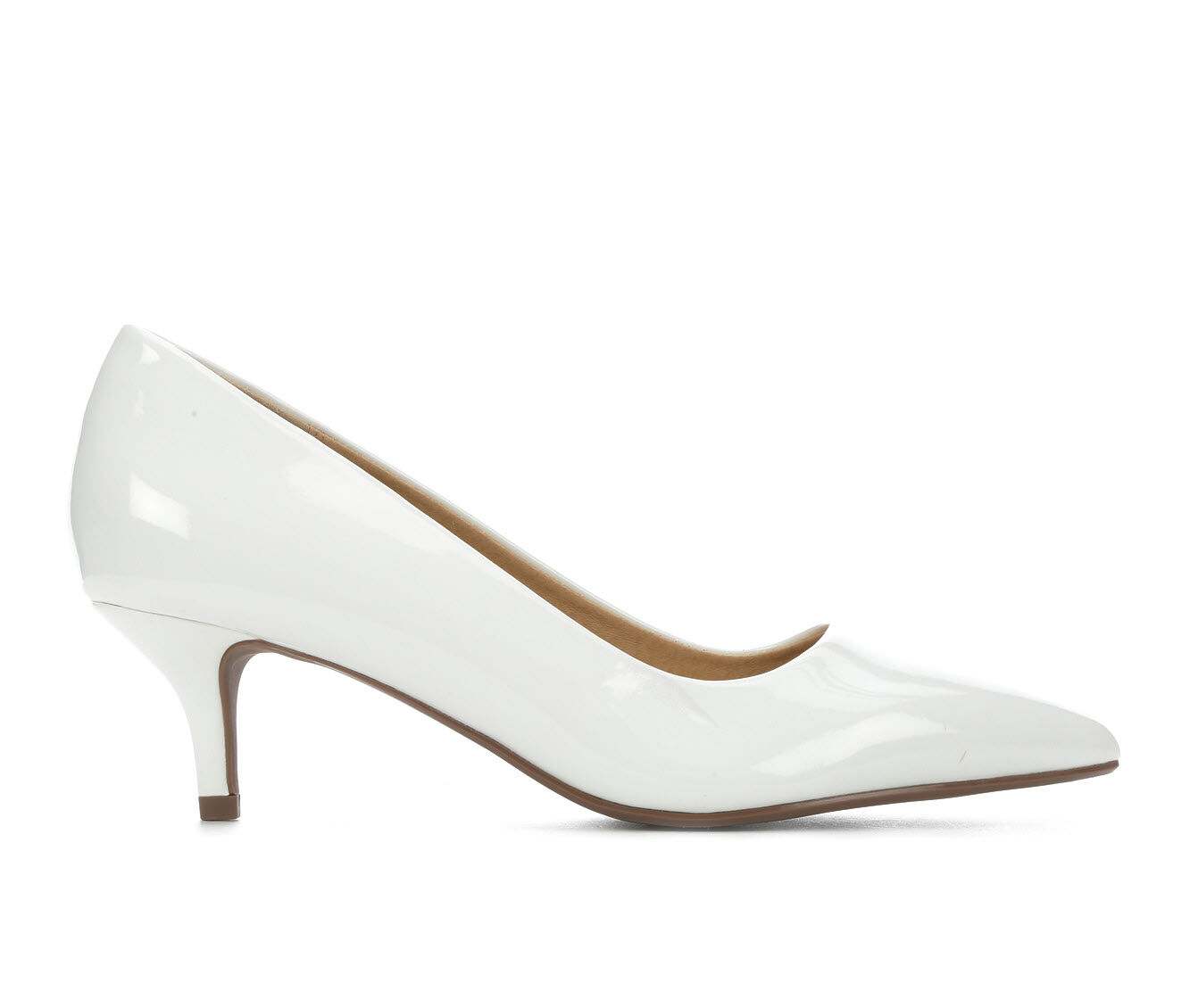 Beautiful Women's City Classified Hailey Pumps White Pat