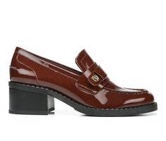 Women's Franco Sarto Rozette Heeled Loafers
