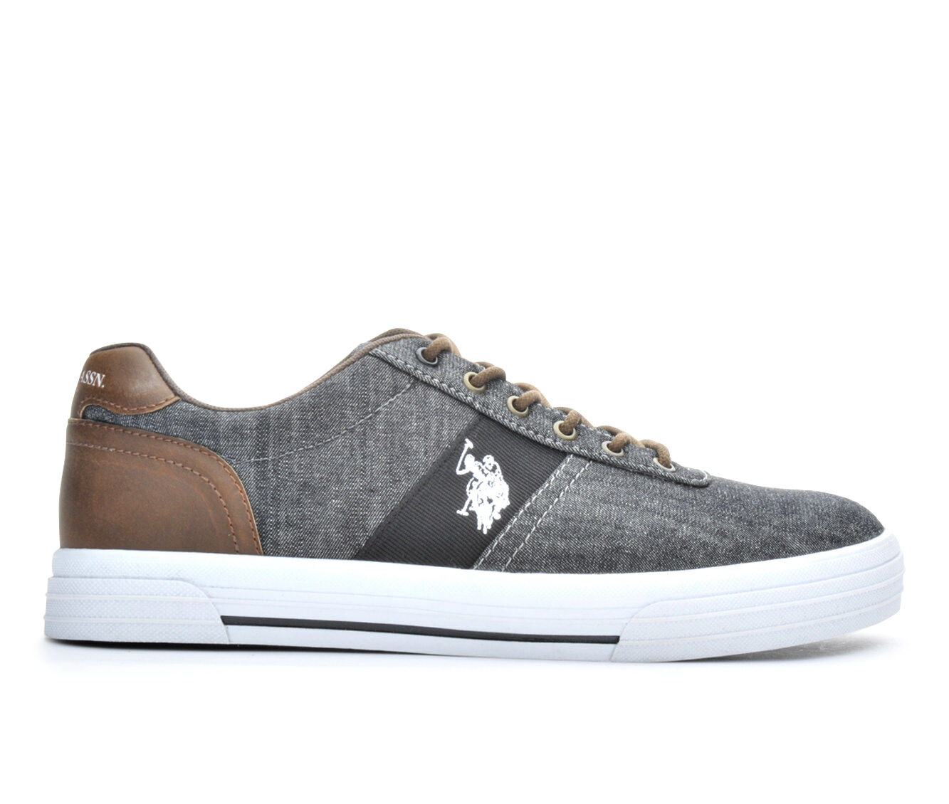 Mens US Polo Assn Helm In Chambray Casual Shoes