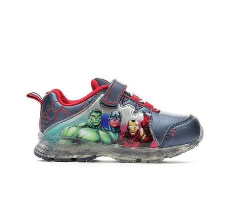 Boys' Marvel Lighted Avengers 4 7-12 Shoes