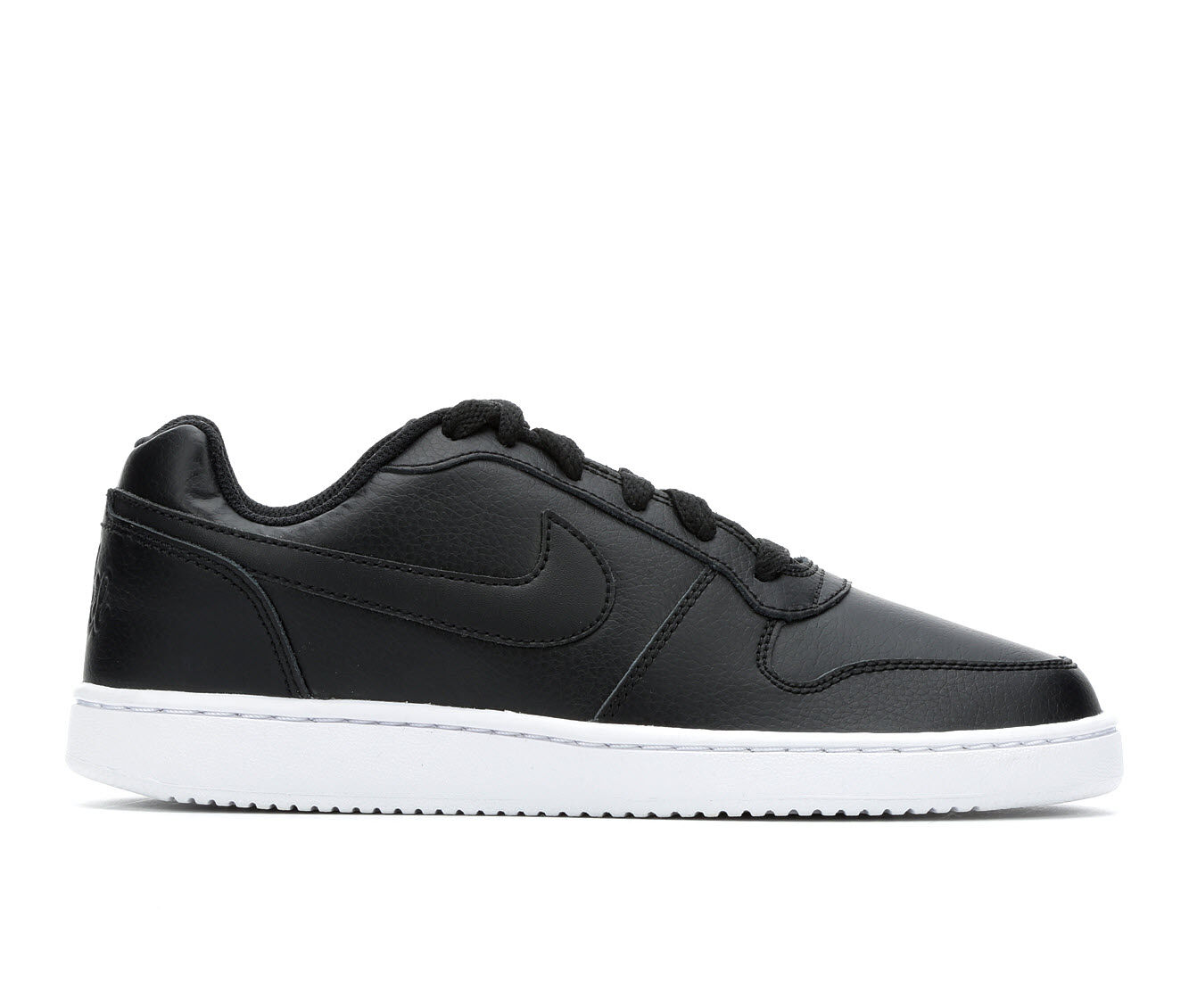 Women's Nike Ebernon Low Basketball Shoes Black/White