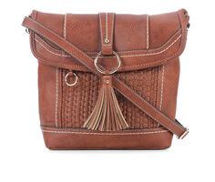 B.O.C. Bankford Woven Flap Crossbody Handbag