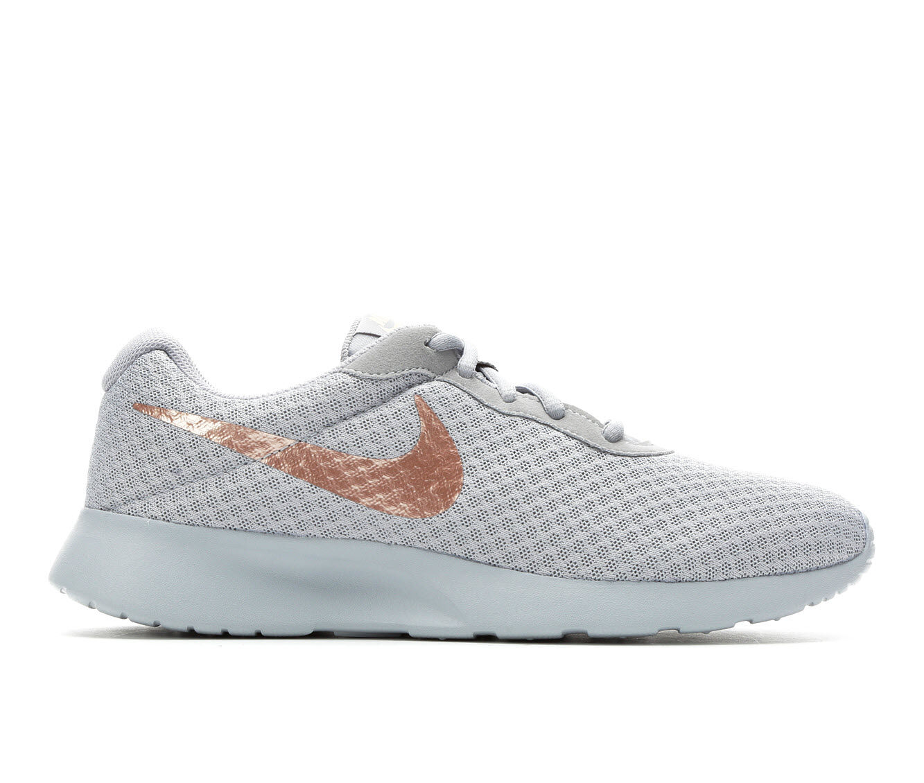 Women's Nike Tanjun Sneakers Grey/Red Bronze