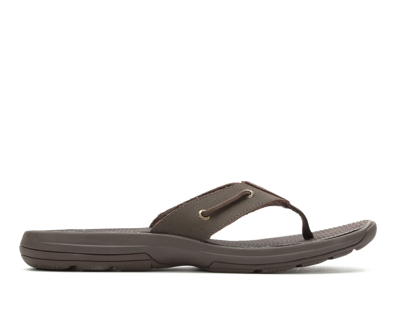 Men's Sperry Warwick Thong Flip-Flops Brown