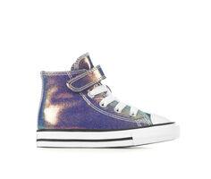 Girls' Converse Infant & Toddler Chuck Taylor Hi Irridescent Glitter Sneakers
