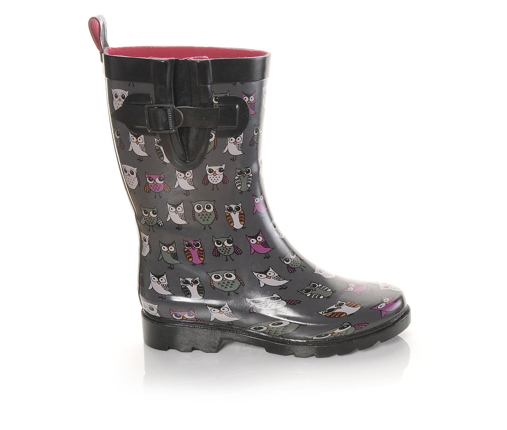 Womens Capelli New York Sketchy Owls MidShaft Rain Boots