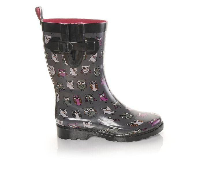 Women's Capelli New York Sketchy Owls Mid-Shaft Rain Boots
