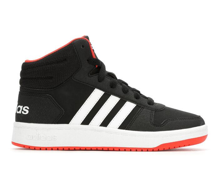 Boys' Adidas Hoops Mid 2 10.5-7 High Top Basketball Shoes