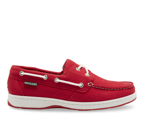 Women's Eastland Solstice MLB Cardinals Boat Shoes