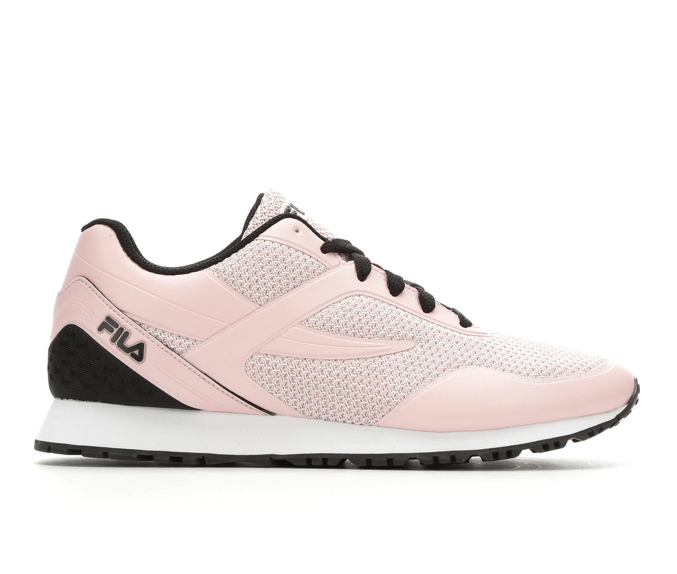 Women's Fila PostRunner 2 Ultra Metallic Retro Sneakers Pink/Black/Wht