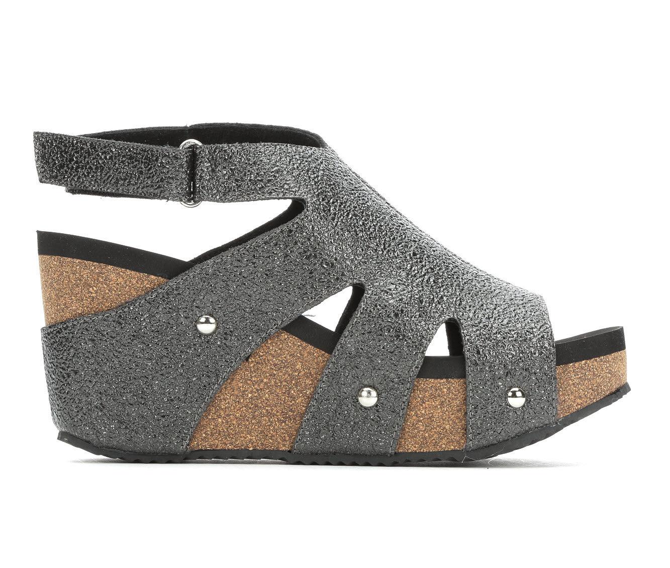 Women's Volatile Springboro Platform Sandals Pewter