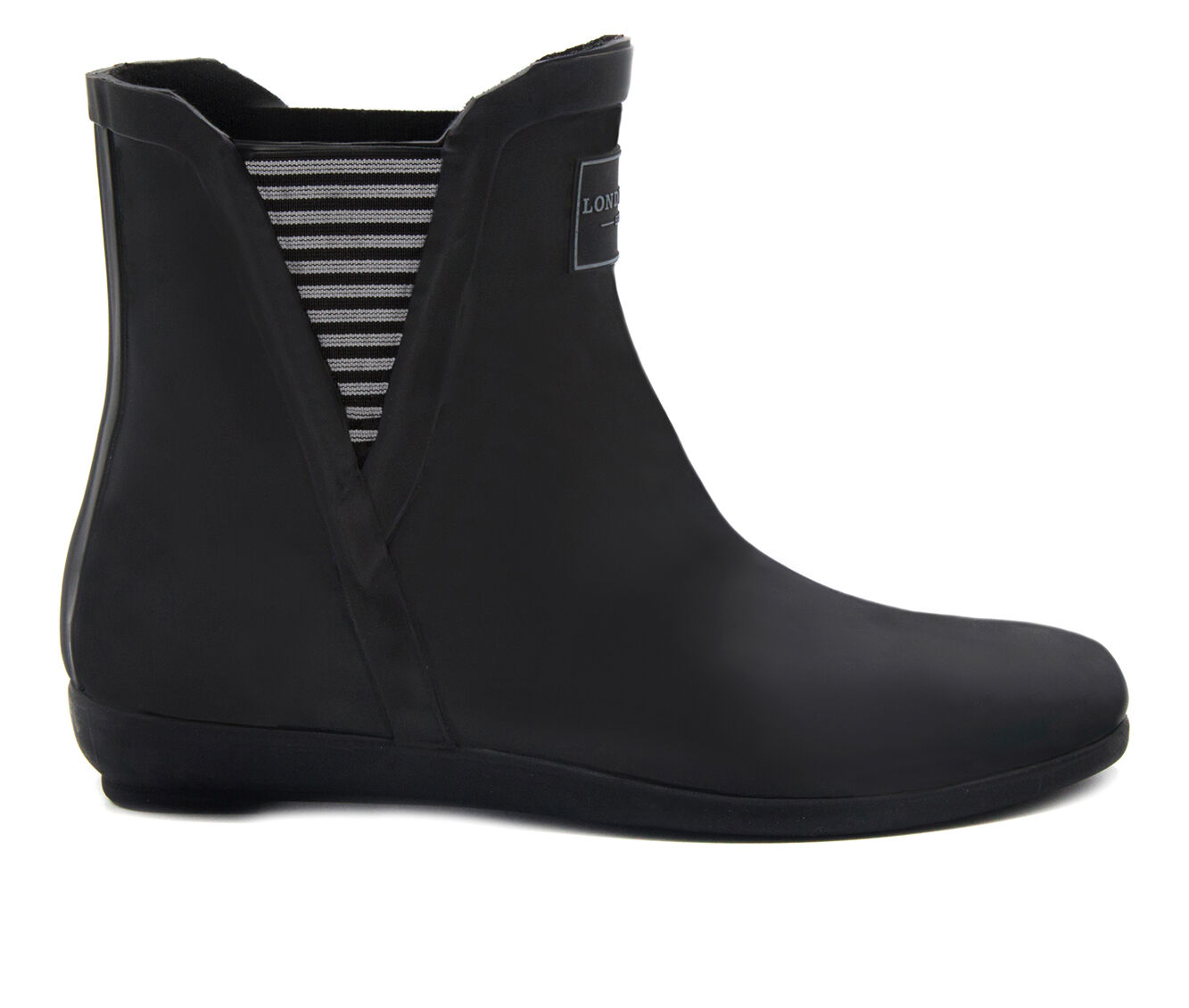 Women's London Fog Piccadilly Rain Boots Black