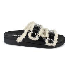 Women's KENSIE Flossy Slide Sandals