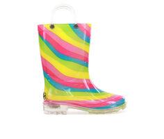 Western Chief Infant Rainbow Lighted Rain Boot 5-10 Rain Boots