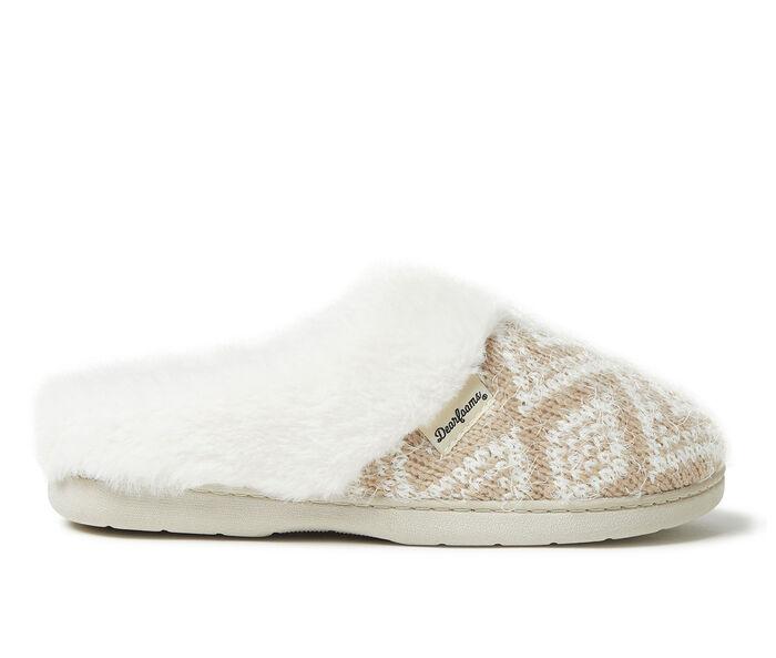 Dearfoams Oversized Fairisle Knit Clog