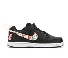Girls' Nike Little Kid Court Borough Low Sneakers